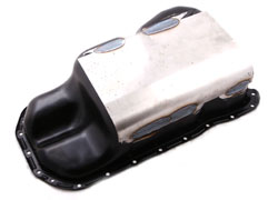 Oil Pan Formed Steel Skid Guard, Mk3 12v VR6