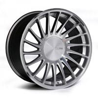 """3SDM 0.04 Wheel, 18"""" 5x100 Silver"""