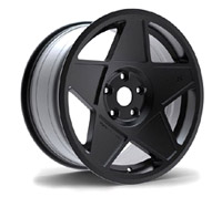 "3SDM.05.100.18.B 3SDM 0.05 Wheel, 18"" 5x100 Black"