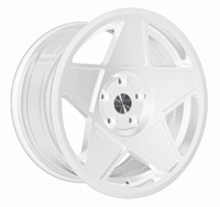 "3SDM 0.05 Wheel, 18"" 5x112 Gloss White"
