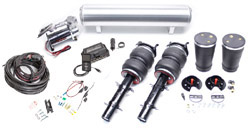 BAG-MK4-AirLift-3P-FullKit Air Lift Kit w/ Performance 3P Digital Controls, Mk4 Golf/Jetta / Mk1 TT
