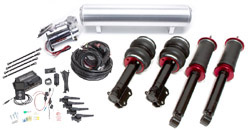 BAG-Mk2-3-AirLift-3H-Kit Air Lift Kit w/ Performance 3H Digital Controls, Mk2/Mk3 Golf/Jetta