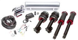 BAG-Mk2-3-AirLift-3P-Kit Air Lift Kit w/ Performance 3P Digital Controls, Mk2/3 Golf/Jetta