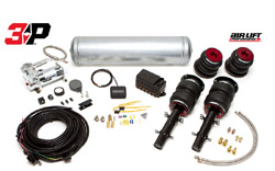 BAG-Mk4-R32-AirLift3P-Fullkit Air Lift Kit w/ Performance 3P Digital Controls, Mk4 Golf R32 / Mk1 TT Quattro