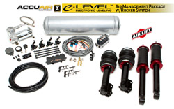 BAG_Mk2-3_ELevel_RockerKIT Air Lift / Accuair e-Level Full Package w/ Rocker Switch, Mk2/3 Golf/Jetta