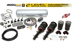 Air Lift/Accuair e-Level Full Package w/ Rocker Switch, Mk4