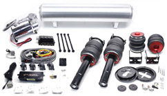 BAG_Mk56ELevel_TOUCHPADKIT Air Lift / Accuair e-Level Full Package w/ Touchpad, Mk5/Mk6 Golf/GTi/Jetta