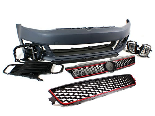 Bp Vwj6 Gli Gli Front Bumper Conversion Kit Mk6 Jetta