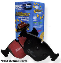 UD1456 Rear, EBC Ultimax OE Brake Pads, Mk5/Mk6/B7 272mm Rotors