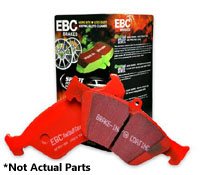 DP32075C Rear, EBC RedStuff Ceramic Race Brake Pads, Mk5/Mk6/B7 272mm Rotors