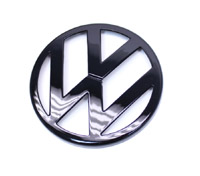 Black Gloss VW Emblem, Front Mk4 Golf/GTi/R32