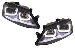 HVWJ6HL-L7 Helix Projector Headlights LED R Style, Mk6 Jetta