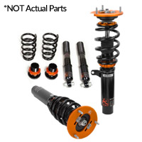 CVW042-KP Ksport Kontrol Pro KP Coilovers Damper Kit, Mk4 Golf R32