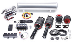 Air Lift Kit w/ Accuair SwitchSpeed Analog Controls, Mk5/Mk6 Golf/GTi/Jetta