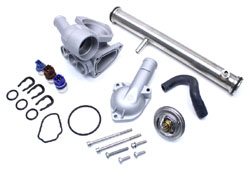 Metal-ULT-Thermo-Kit-Mk3-VR6 - Metal Ultimate Plus Thermostat Housing Kit, Mk3 VR6