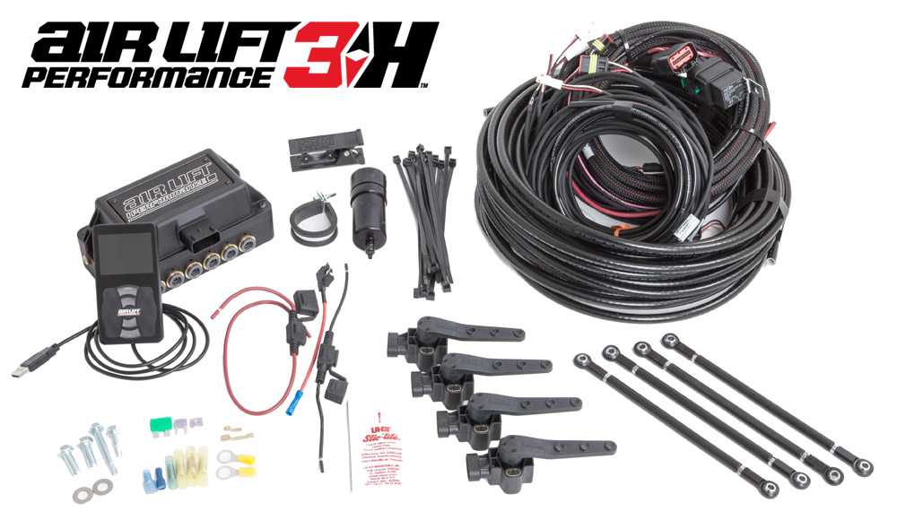 Air Lift Kit W Performance 3H Digital Controls For B8 Audi A4