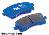 DP51470NDX Rear, EBC BlueStuff Track Brake Pads, B6 S4