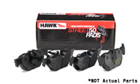 Rear, Hawk HPS 5.0 Compound Performance Brake Pads, 310mm/282mm/260mm Rotors