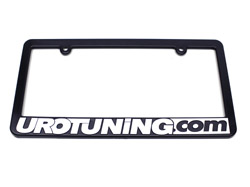 License_Frame UroTuning License Plate Frame
