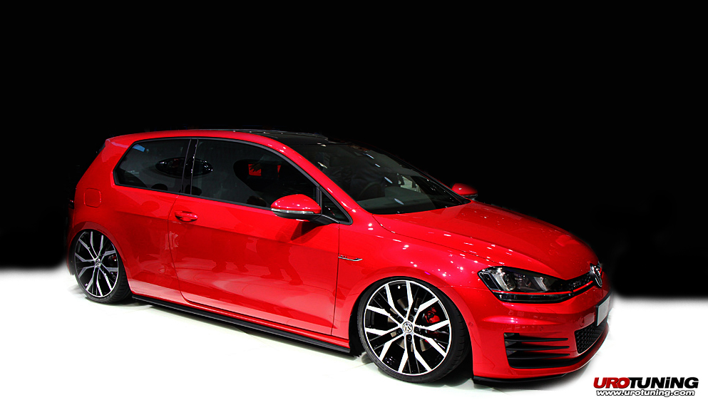 2013 volkswagen golf vii gti concept revealed. Black Bedroom Furniture Sets. Home Design Ideas