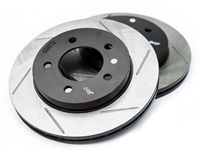 126.33035SL-R Rear Stoptech Power Slot Rotors - Set of 2 Rotors (226x10mm) Mk3 Golf/Jetta VR6