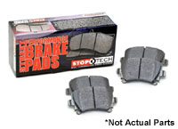 309.13860 Rear, StopTech Performance Brake Pads, B8 Audi A4