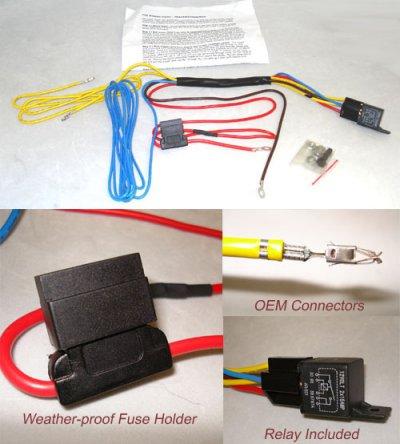 HXWRVWMK4FOG hwrv4hlff wiring kit fog light harness for mk4 cars