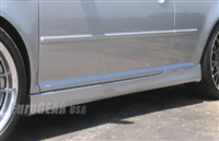 VG99-BKRSSS EuroGEAR VW Mk4 Golf R32 R-Series Side Skirts
