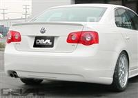 D1123S2 DEVAL VW Mk5 Jetta Trunk Spoiler, Carbon Fiber