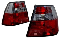 HVWJ4TL-CCRR Helix Mk4 Jetta Clr/Clr/Red/Red Tails