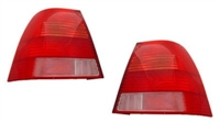 HVWJ4TL-RRRC Helix Mk4 Jetta Euro Red/Red/Red/Clr Tail Lights