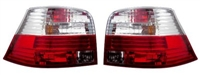 HVWG4TL-CR Helix Mk4 Golf Tail Lights - Red/Clear