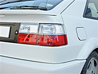 HVWCOTL-RC Helix CORRADO Taillights Red/Clear