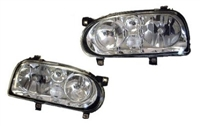 HXVWG3HLD-HC Helix Mk3 Hx Golf (Mk4-look) Headlight, Chrome