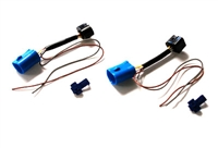 MK3 Ecode headlight wire kit. Single bulb 9004 to D-plug