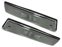 HVWG2FSL-C MK2 Jetta/Golf fender (banana) side lamp - clear