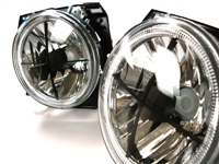 HVWG2HL-AEXC Mk2 7- Round Crosshair Headlights w/ Angel