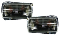 MK2 Jetta E-Code Aero Headlight -Black