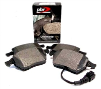 D1849C Front, PBR Ultimate Ceramic Brake Pads, Mk5