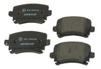 309.11080 Rear, Stoptech Performance Brake Pads, 310mm/282mm/260mm Rotors