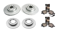 OEM Brake Kit (312mm Front and 282mm Rear), VW Mk6/Mk5 GTi/Jetta 2.0T