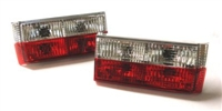 HVWG12TL-RC Helix Mk1/Cabrio Crystal/Red Tail Lights (Short)