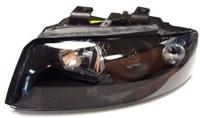 HAUA4B6HL-EB-90 Black Ecode Projector Headlights, B6 Audi A4/S4