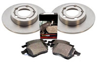 OEM Rear Brake Kit, VW Mk6/Mk5 GTi/Jetta 2.0T