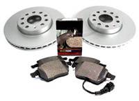 1K0615301T_BP1107 OEM Front Brake Kit, VW Mk5 Rabbit/Jetta 2.5L/TDi