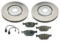 OEM Front Brake Kit, VW Mk4 Golf R32