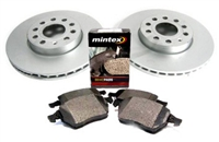 1HM615301E_D371MTX OEM Front Brake Kit, VW Mk3 Golf/Jetta 2.0L