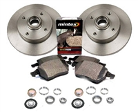 357615601_D104P OEM Rear Brake Kit, VW Mk3 Golf/Jetta 2.0L