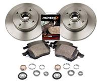 357615601_D104P OEM Rear Brake Kit, VW Mk3 Golf/Jetta 2.0L