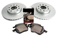 1H0615301A_D1327MTX OEM Front Brake Kit, VW Mk3 Golf/Jetta VR6 93-95